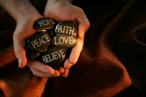 hope love faith