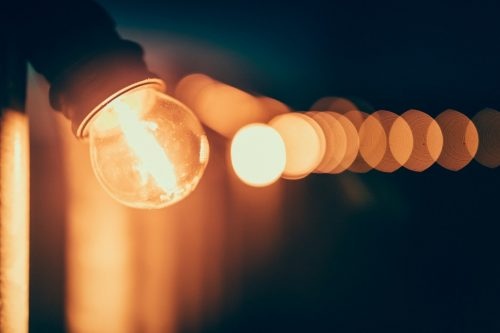 using light to release negative energy